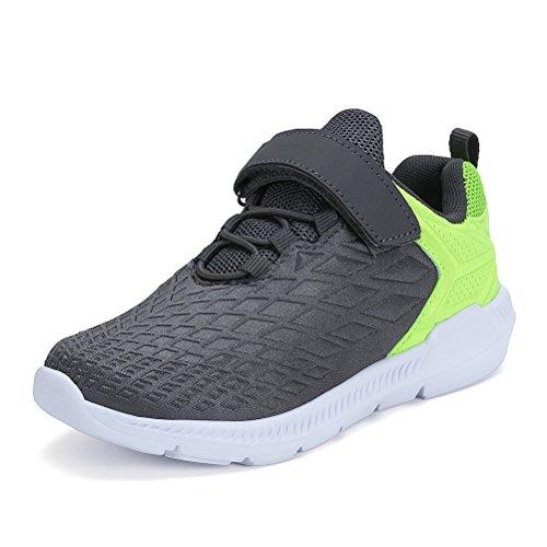 er Sportschuhe Fashion Seakers Breathable Leuchtschuhe Freizeitschuhe Jungen Outdoor Schuhe mit Multicolor(Grau,36) (Einfach Zu Machen Kostüme Für Halloween)
