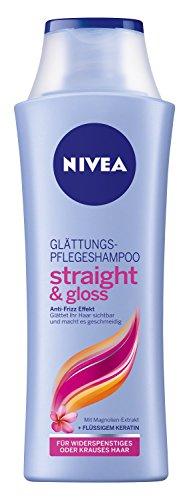 Nivea Glättungs-Pflegeshampoo Straight & Gloss, 3er Pack (3 x 250 ml)