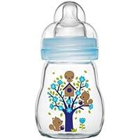 MAM 670374 - Feel Good Glass Bottle 170 ml, Glasflasche