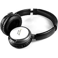 MusicMan BassHead MP3 TXX3790 Casque stéréo /lecteur MP3/Radio FM/micro SD Blanc