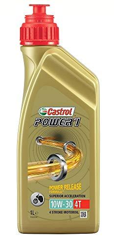 Castrol 15042E Olio Castrol Power 1 4t 10w-30 1l Lubrificante moto