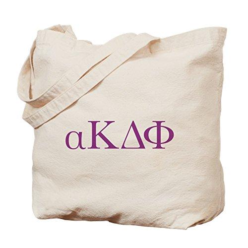 CafePress Alpha Kappa Delta Phi Letters Tragetasche, canvas, khaki, M