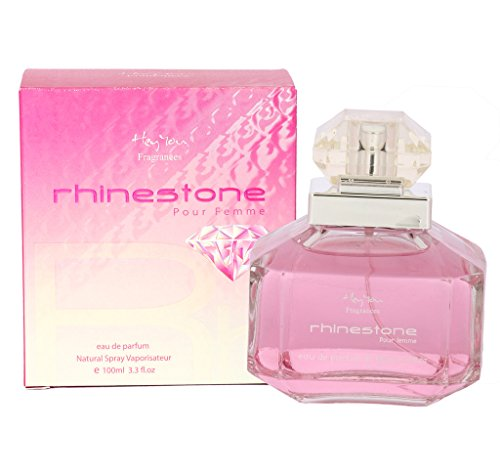Hey You Original Womens 100 ml RHINESTONE Perfume Spray Scent Imported EDP Gift  available at amazon for Rs.499