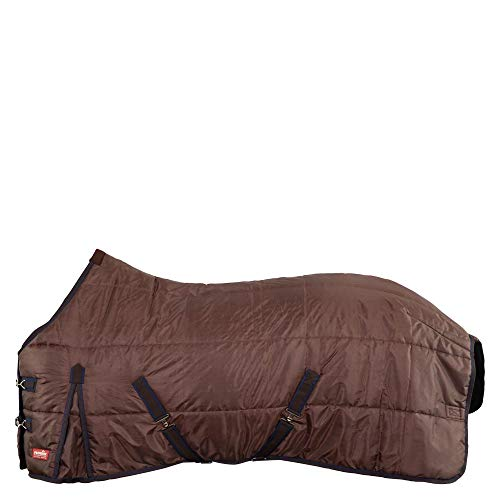 Premiere Stalldecke 210D - 300 g mit Fleece-Widerristschutz Turkish Coffee (155 cm)