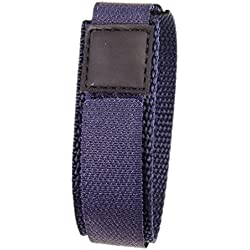 Minott Replacement Band Watch Band Textile Strap velcro Marine 18mm