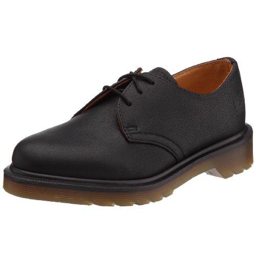Dr. Martens 1461, Chaussures à lacets homme Noir (Noir Harvey)