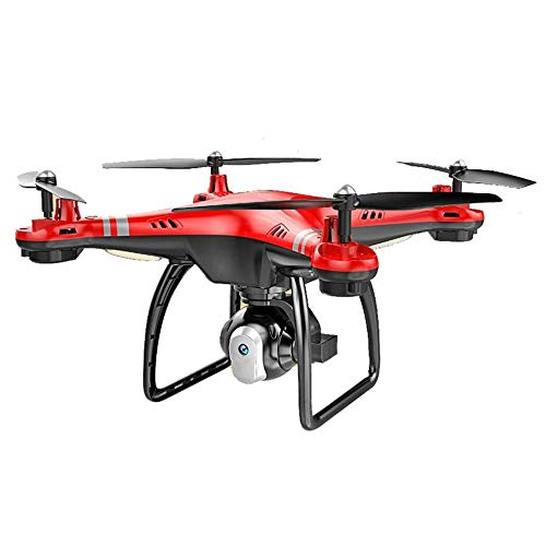 HermosaUKnight X8 RC Drone con HD 3MP Camera Altitude Hold modalità Headless 2.4G RC Quadcopter-Red