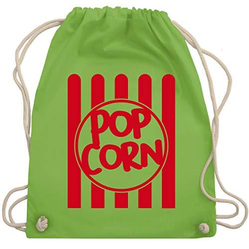 Karneval & Fasching - Popcorn Karneval Kostüm - Unisize - Hellgrün - WM110 - Turnbeutel & Gym Bag