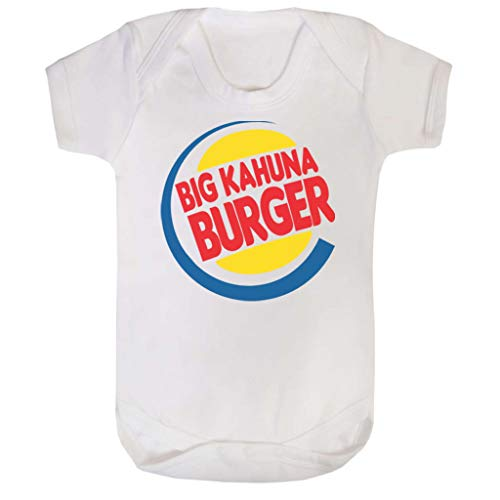 King Kostüm Burger - Pulp Fiction Big Kahuna Burger King Baby Grow Short Sleeve
