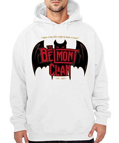 -- Belmont Clan - Vampire Hunters -- Boys Kapuzenpullover Weiß