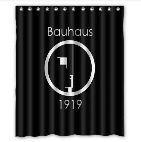 caichaxin Über Bauhaus Duschvorhang 1919 Schöner und umweltfreundlicher Duschvorhang, wasserdicht und tragbar