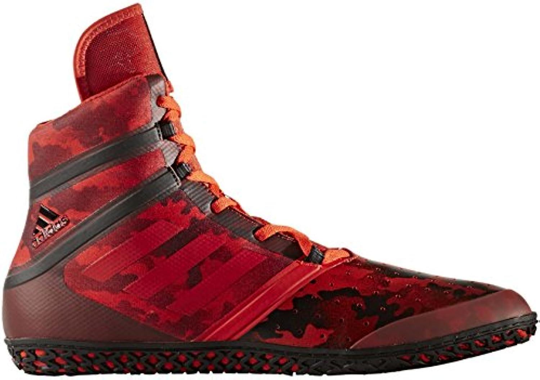 adidas Flying Impact - Zapatillas de Lucha contra Impactos, Color Rojo, Rojo, 12 UK