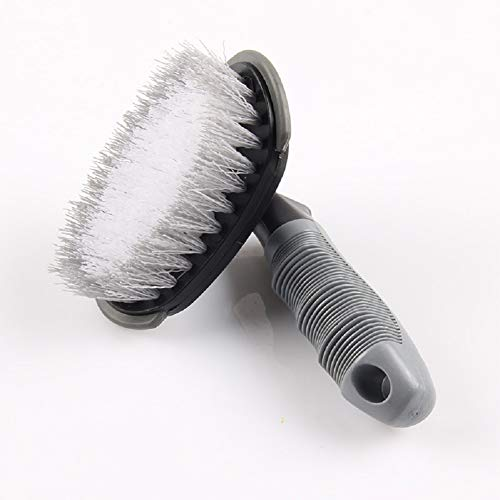 AimdonR Lot de 2 brosses de nettoyage en acier et jantes en m/étal l/éger pour votre voiture lavage de voiture de beaut/é moto ou v/élo outils de lavage de voiture