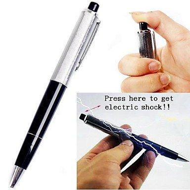 HYJ Fr Gadgets 2in1 Shock-You-ami choc électrique et d'écriture Stylo à bille blague