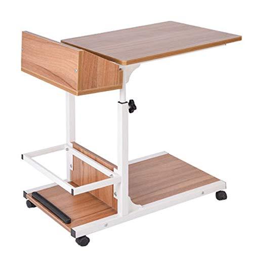 Mesa lateral El escritorio del ordenador rueda la mesa lateral ...