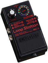 Boss RC-1 BK Loop Station · Pedal guitarra eléctrica