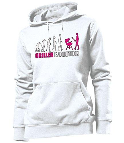 Griller Herd (GRILLER EVOLUTION 3225 Damen Hoodie (FKP-Pink) Gr. XL)