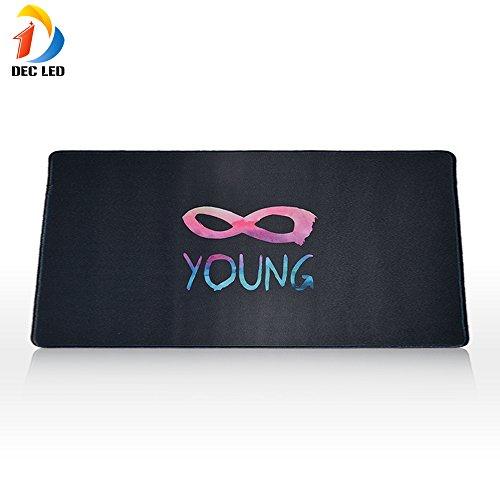 dec-led-gaming-mouse-pad-extended-grande-taille-35-x-16-rsistant-leau-tapis-de-souris-avec-anti-drap