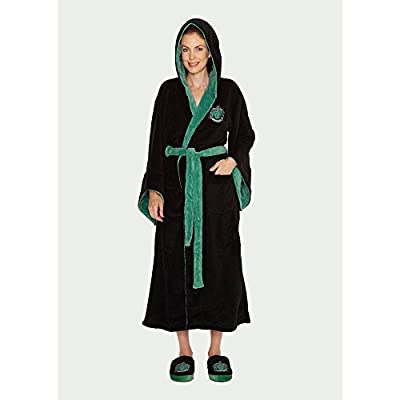Harry Potter Ladies Bathrobe Slytherin Groovy Pigiami