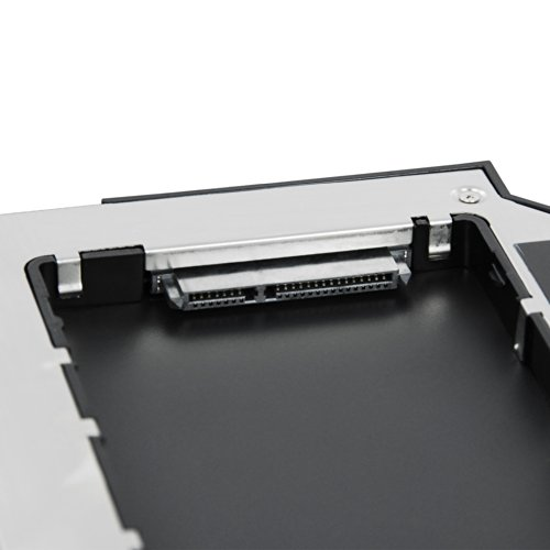 LEICKE DUAL SATA 2.HDD/SSD Festplatte Adapter 9.5 mm für DELL Notebooks mit E-Serie - 2