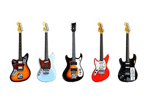 Kurt Cobain Gitarren POSTER drucken Format A1 (Kurt Cobain-gitarre)