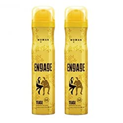 Engage Woman Bodylicious Deodorant Spray - Tease (165ml) (Pack of 2) SF010 SF Wide Stone 51