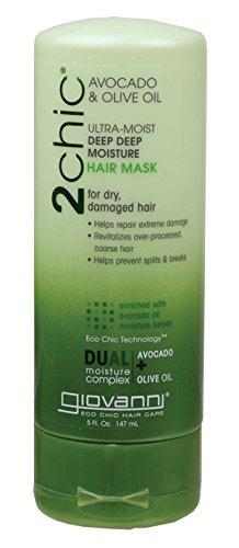 Deep Moisture Maske (Giovanni 2chic Avocado & Olive Oil Ultra-Moist Deep Deep Moisture Hair Mask 142ml)
