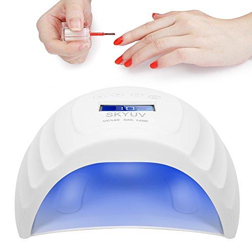 UV Lámpara LED uñas gel mejorado Lámpara secado