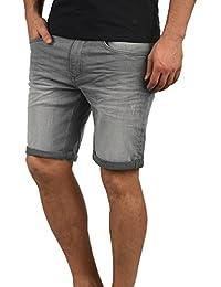 59ef5e04fe010 Blend Luke Short en Jean Pantalon Court Denim pour Homme Extensible Coupe  Slim