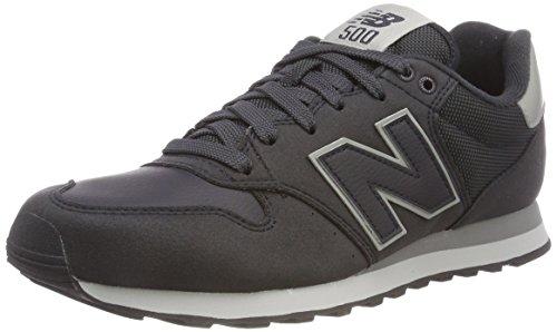 New balance 500, sneaker uomo, blu (navy sn), 45.5 eu