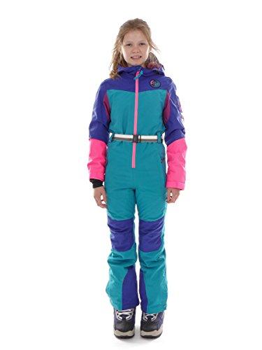O'Neill Skioverall Schneeanzug Skianzug Out Of Control blau Retro (152)