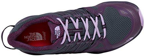 The North Face Hedgehog Fastpack Lite Ii Gtx, Chaussures de Randonnée Basses Femme Gris (Dark Shadow Grey/violet)