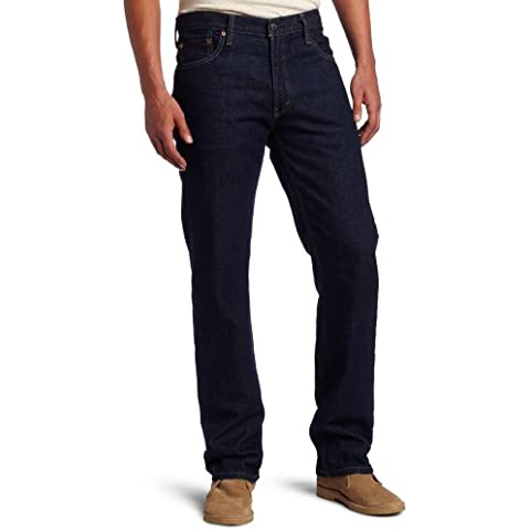 Levi's 505 Regular Fit Jean, Hombre (Levi's 501 con cremallera) (W31/L30 (ES 42-), Rinse)