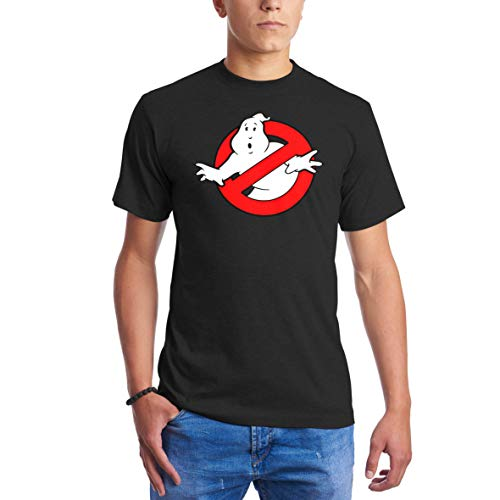 Ghostbusters Movie Ghost Stop Cool Halloween Funny Style Schwarz T Shirts  für Männer 4X Large 8b5d3f21d