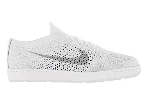 Nike W Tennis Classic Ultra Flyknit, Chaussures de Sport Femme, Taille Blanc Cassé - Blanco (White / Wolf Grey)