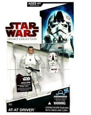 Star Wars 2009 Legacy Collection BuildADroid Action Figure BD No. 49 ATAT Driver Random Helmet Position by Hasbro