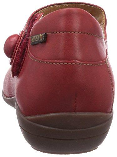 Mephisto , Chaussures de ville à lacets pour femme Rouge