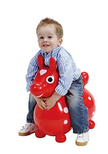 Jakobs Hüpfpferd Rody rot Sitzhöhe ab ca. 26cm