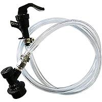 Namvo Balle Lock Line Assembly, robinet de pique-nique avec ligne de bière de 3 ft pour la maison