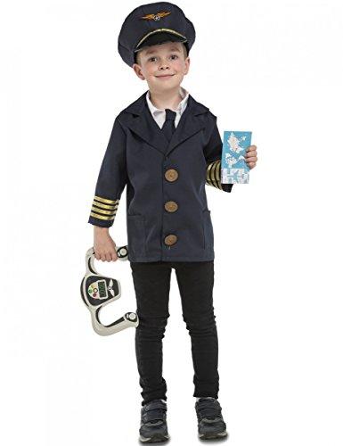 My Other Me Me-204130 Disfraz Yo Quiero ser piloto, 5-7 años (Viving Costumes 204130)