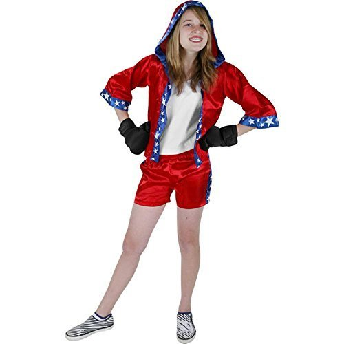 Child's Preteen Boxer Girl Costume (Medium 14-16) by RG Costumes