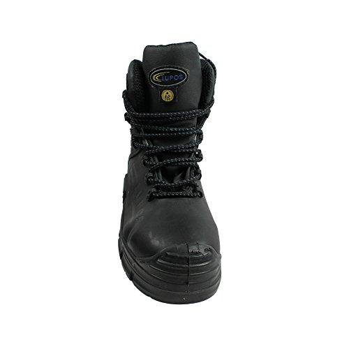 Lupos Magnum S3 SRC Sicherheitsschuhe Arbeitsschuhe Berufsschuhe Businessschuhe Trekkingschuhe Schwarz Schwarz
