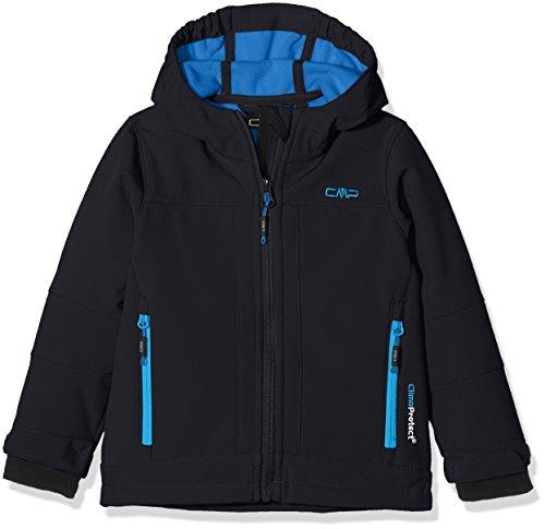 Cmp 3a00094, giacca softshell bambini e ragazzi, antracite/regata, 176
