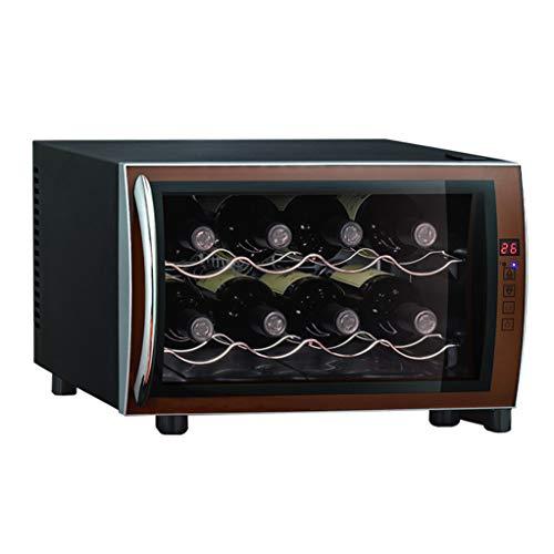 Cave à vin thermoélectrique - Cave à vin électronique à puce avec température et humidité constantes - Armoire de rangement multifonction haut de gamme