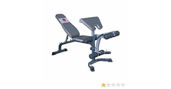 MARCY Fitness Banc de Musculation Utility Banc avec Curl