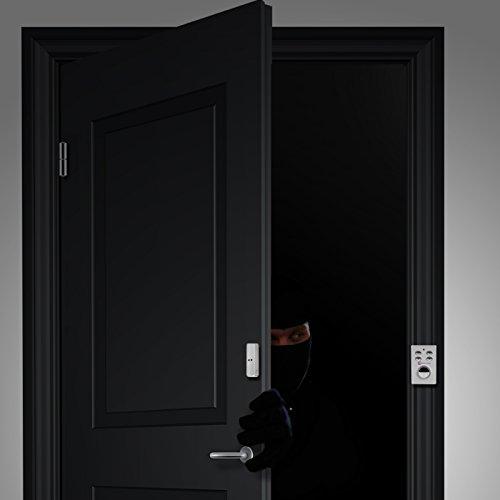KOBERT GOODS – SP65 SILBER drahtloser Tür Fenster Garage oder Vitrinen Alarm - 6