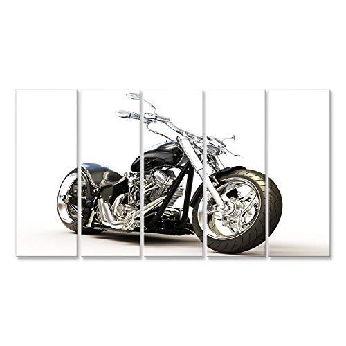 islandburner Bild Bilder auf Leinwand super Chopper Motorrad HD Poster, Leinwandbild, Wandbilder