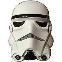 Máscara de Star Wars Stormtrooper de plástico para adultos