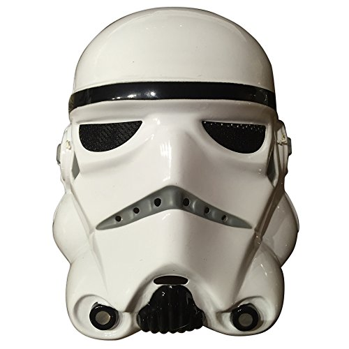 Star Wars Kunststoff Maske für Erwachsene - Stormtrooper (Für Kunststoff-maske Erwachsene)