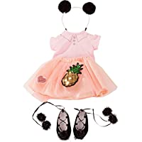Gotz 3402926 Standing Doll Combo Dolce Vita - Size XL - Dolls Clothing / Accessory Set - Suitable For Standing Dolls Size XL (45 - 50 cm)